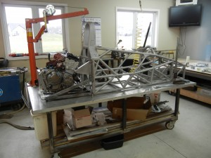 Customer Chassis getting a new engine and rear suspension