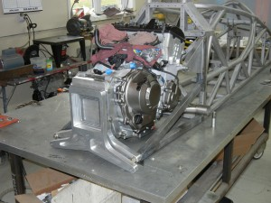 Engine installed